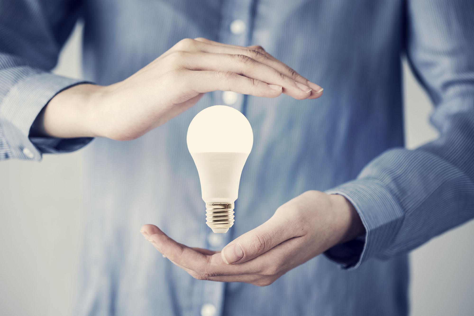 LED bulbs shine brighter